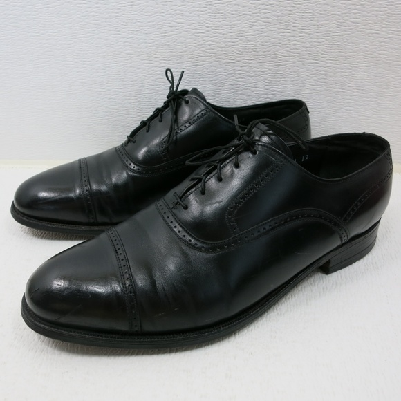 French Shriner Shoes   Cap Toe Leather